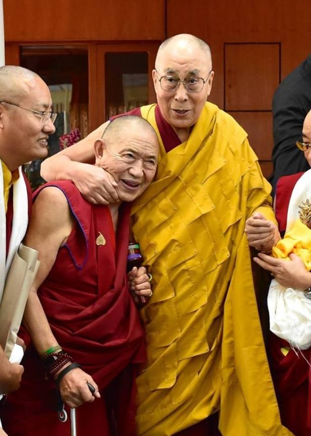 Garczen Rinpocze i Dalajlama